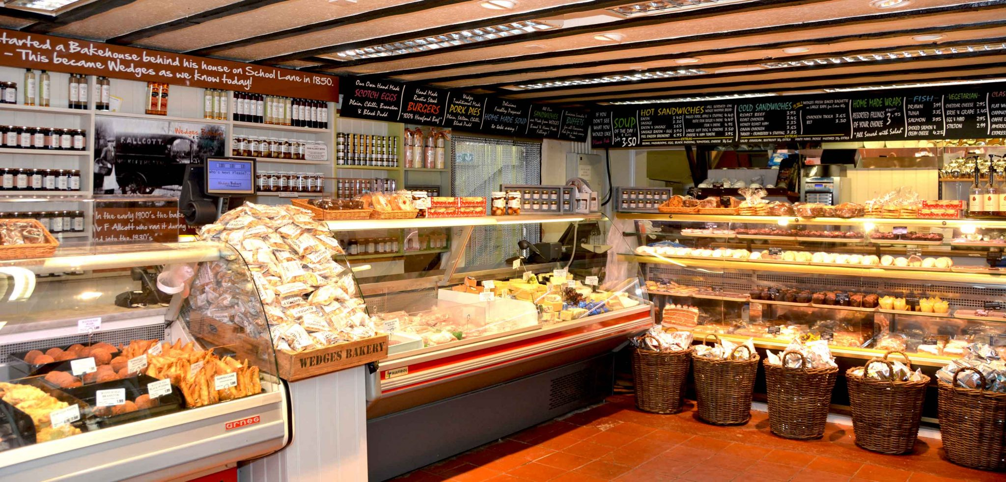 Wedges Bakery at Hockley Heath